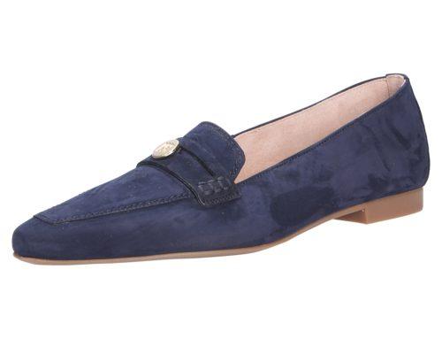 Damen Paul Green Klassische Slipper blau Paul Green 40,5