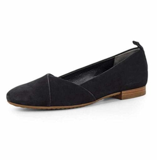 Damen Paul Green Klassische Slipper schwarz 40,5
