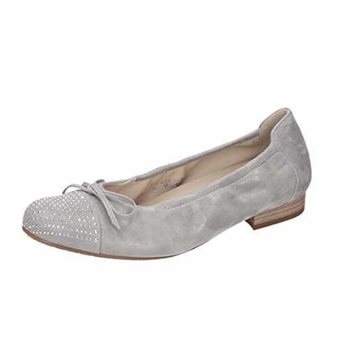 Damen Semler Ballerinas grau fabia g- 35,5
