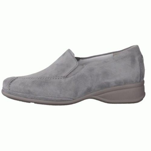 Damen Semler Komfort Slipper blau 38