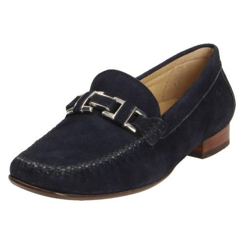 Damen Sioux Klassische Slipper blau Cambria 38,5