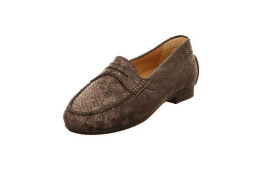 Damen Sioux Klassische Slipper grau Loana-151 38,5