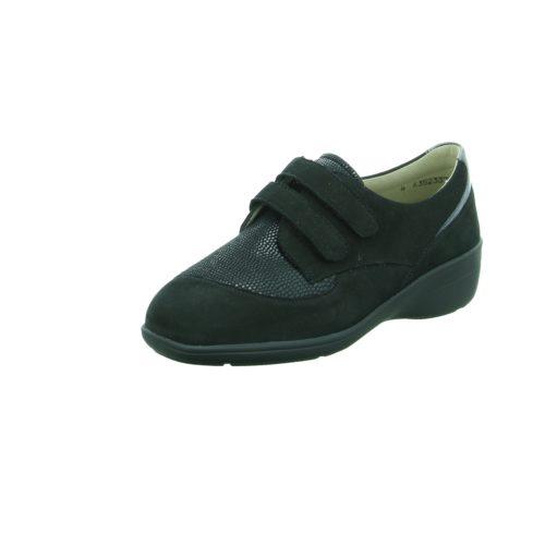 Damen Solidus Komfort Slipper schwarz Hedda 38