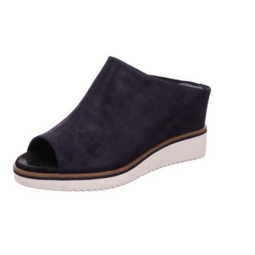 Damen Tamaris Klassische Sandalen blau Da.-Pantolette 40
