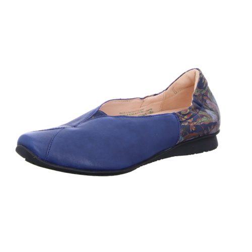 Damen Think Klassische Slipper blau CHILLI 37