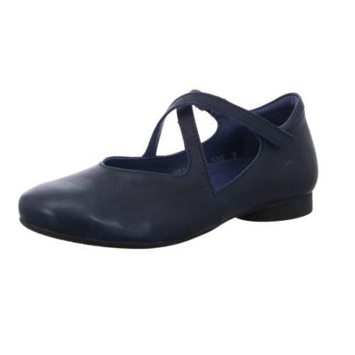 Damen Think Sportliche Slipper blau 39