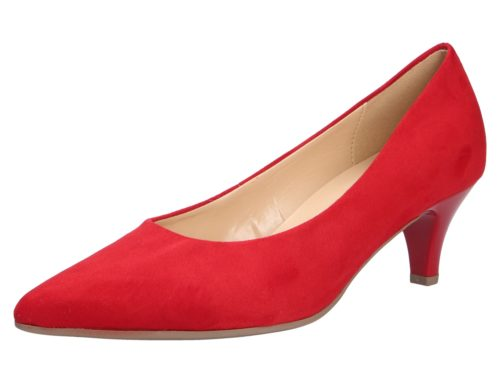Gabor Modische Pumps rot Damen Pumps 38,5