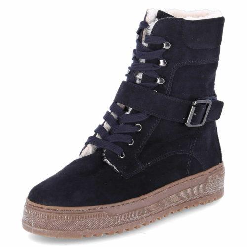 Gabor Schnür-Stiefeletten schwarz Stiefel 37,5