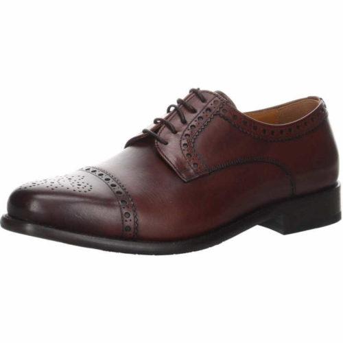Herren K&K Business Schuhe braun Old England Schnürschuh 45
