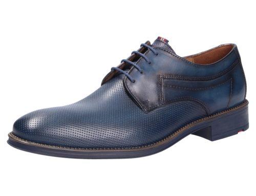 Herren Lloyd Business Schuhe blau Herren Schnürschuhe 46
