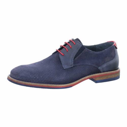 Herren Nicola Benson Business Schuhe blau Schnürschuh 44