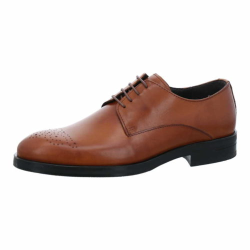 Herren Nicola Benson Business Schuhe braun Schnürschuh 43