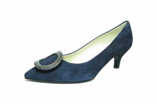 Moda di Fausto Modische Pumps blau 38