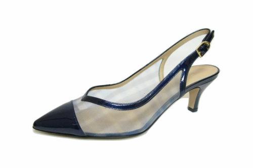 Moda di Fausto Sling-Pumps blau 36