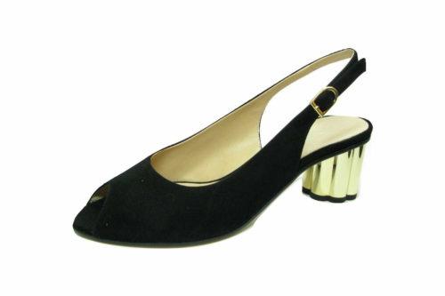 Moda di Fausto Sling-Pumps schwarz 40