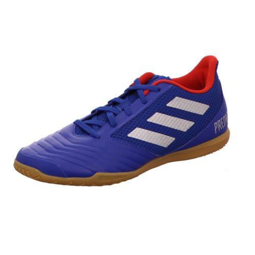 Unisex Adidas Hallenschuhe blau 46