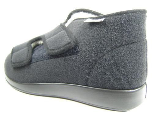 Unisex Florett Hausschuhe schwarz 60925/60 Genua Winter 42