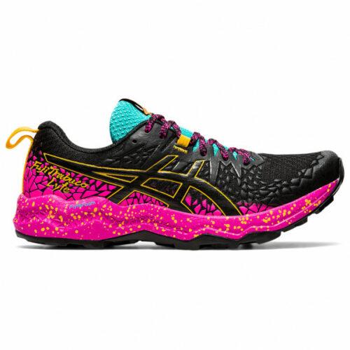 Asics - Women's FujiTrabuco Lyte - Trailrunningschuhe Gr 5,5 schwarz/rosa