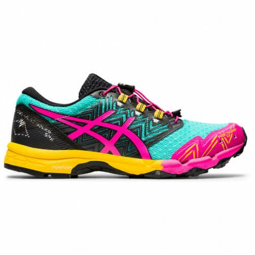 Asics - Women's Gel-Fujitrabuco Sky - Trailrunningschuhe Gr 10,5;6;7;8 schwarz/rosa/türkis;rosa/schwarz