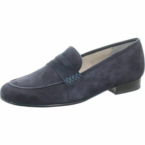 Damen Ara Klassische Slipper blau 37,5