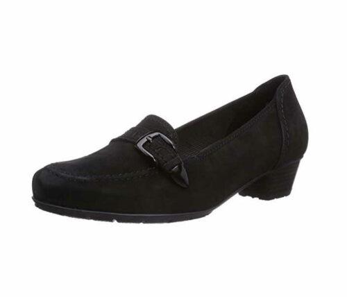 Damen Ara Klassische Slipper schwarz NANCY 37
