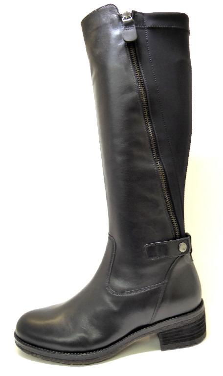 Damen Gabor Stiefel schwarz 37,5