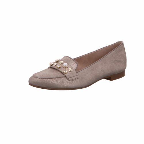 Damen Paul Green Klassische Slipper beige -55 39
