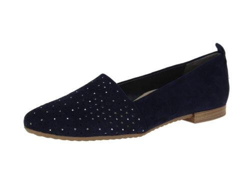 Damen Paul Green Klassische Slipper blau 37,5