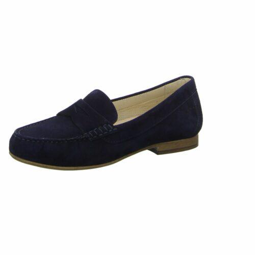 Damen Sioux Komfort Slipper blau 37,5