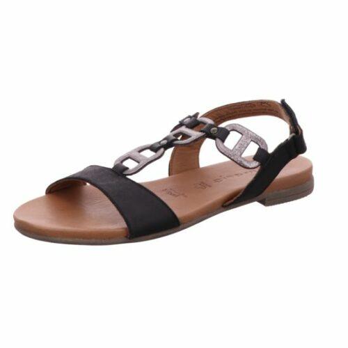 Damen Tamaris Klassische Sandalen schwarz Da.-Sandalette 37