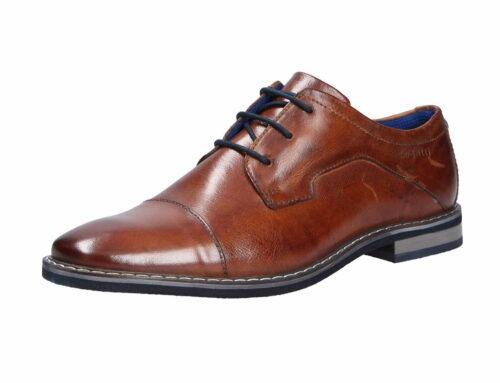 Herren Bugatti Business Schuhe braun Herren Schnürschuhe 48