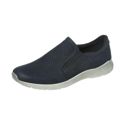 Herren Ecco Sportliche Slipper blau 511644 02058 45