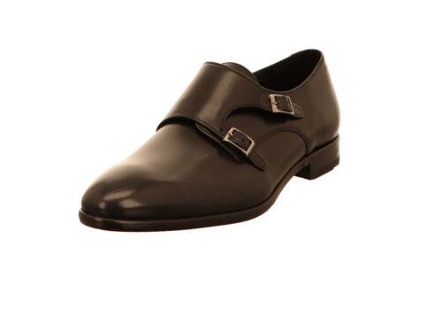 Herren Lloyd Klassische Slipper schwarz MICHAEL 42,5