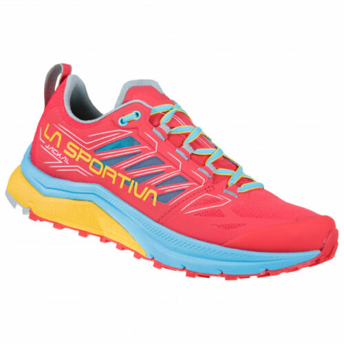 La Sportiva - Women's Jackal - Trailrunningschuhe Gr 36,5;37;37,5;38;38,5;39;39,5;40;40,5;41;41,5;42;42,5;43 rot;lila;blau/grau