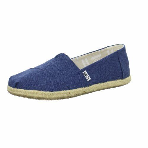 Unisex Toms Klassische Slipper blau 36