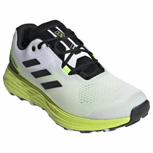 adidas - Terrex Two Flow - Trailrunningschuhe Gr 8 grau/schwarz/grün