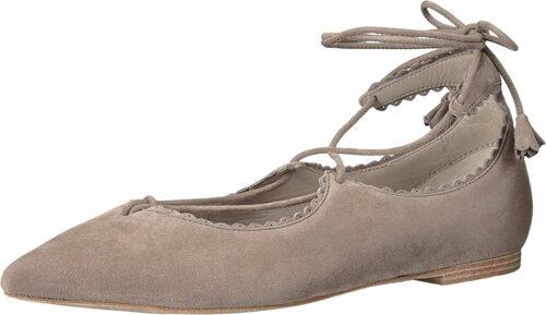 Damen Kennel & Schmenger Ballerinas grau Samtziege 37,5
