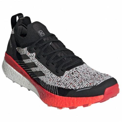 adidas - Terrex Two Ultra Parley - Trailrunningschuhe Gr 12,5 schwarz/grau/rot