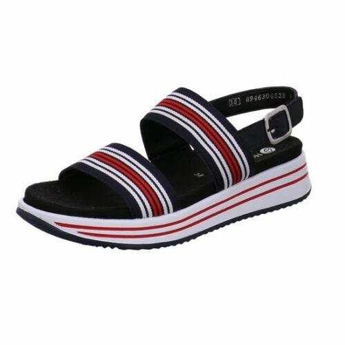 Damen Remonte Klassische Sandalen blau Sandalette 41