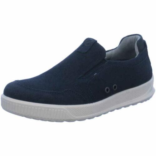 Herren Ecco Sportliche Slipper blau 40