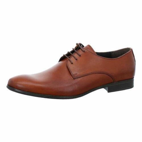 Herren Nicola Benson Business Schuhe braun Business Schnürschuh 46