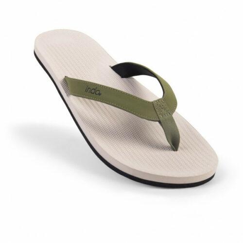 Indosole - Zehensandalen Color Combo - Sandalen Gr 39/40 weiß