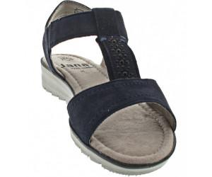 Jana Shoes Damen-Sandalen Jana Sandalette Navy blau (88 28605 22 805)