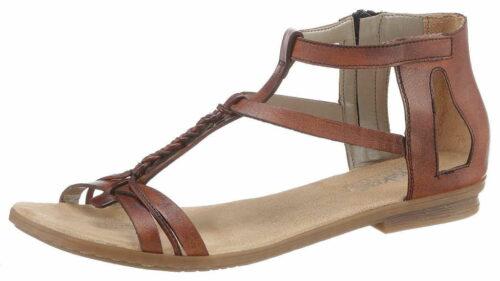 Rieker Klassische Sandalen braun Sandalette 37
