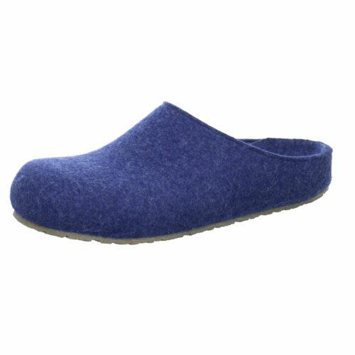 Unisex Haflinger Hausschuhe blau NV 43