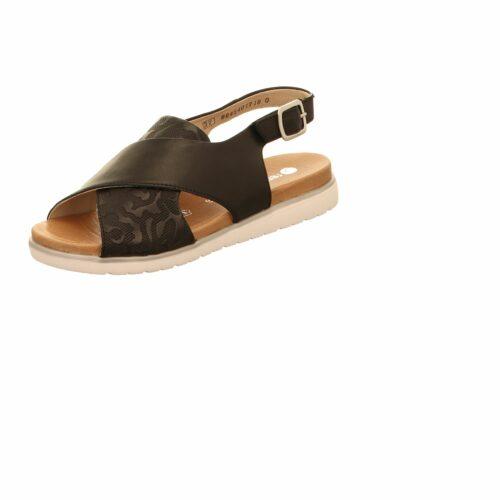 Damen Remonte Komfort Sandalen schwarz Sandalette 39