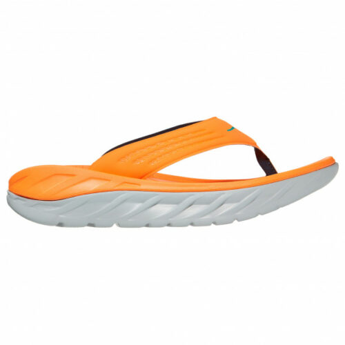 Hoka - Ora Recovery Flip - Sandalen Gr 7 - Regular orange/beige