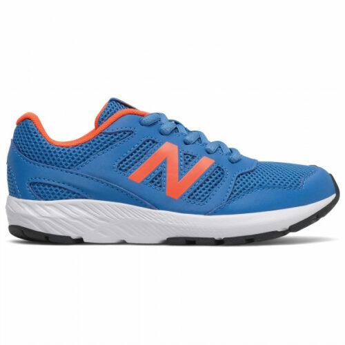 New Balance - Kid's 570 Youth Schnürung - Runningschuhe Gr 4K blau/grau