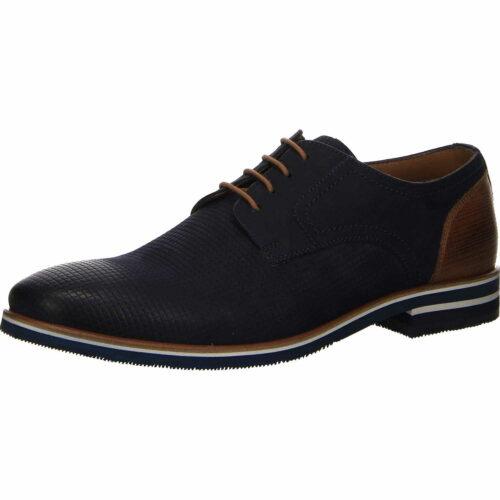 Herren Lurchi Business Schuhe blau Schnürschuh 45