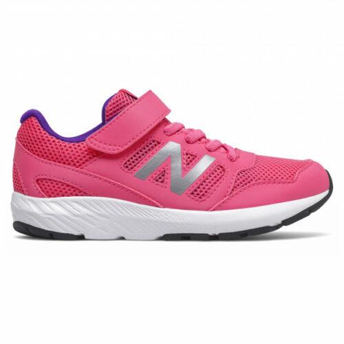 New Balance - Kid's 570 Youth Schnürung und Klett - Runningschuhe Gr 10,5K rosa
